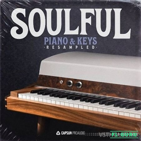Capsun ProAudio - Soulful Piano & Keys Resampled (WAV) - сэмплы клавишных