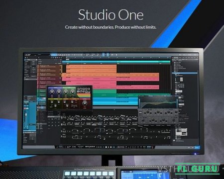 PreSonus - Studio One 5 Professional 5.0.1 x64 [06.2020, MULTILANG] - секвенсор