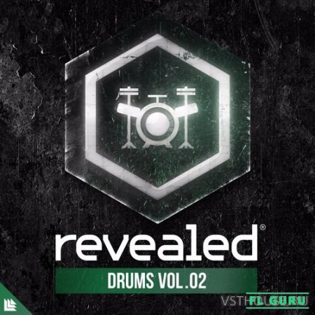 Revealed Recordings - Revealed Drums Vol. 2 (WAV) - сэмплы ударных