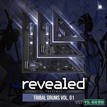 Revealed Recordings - Revealed Tribal Drums Vol. 1 (WAV) - сэмплы ударных