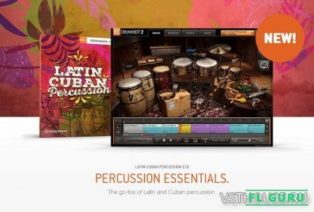 Toontrack - Latin Cuban Percussion EZX (SOUNDBANK) - сэмплы EZDrummer 2