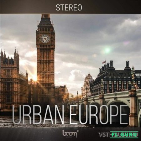 Boom Library - Urban Europe 3D SURROUND & STEREO Editions (WAV) - звуки города