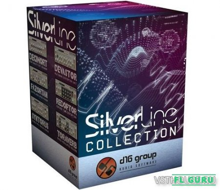 d16 Group - SilverLine Collection 02.2021 VST, AAX, AU WIN.OSX x86 x64 [02.2021] - набор плагинов