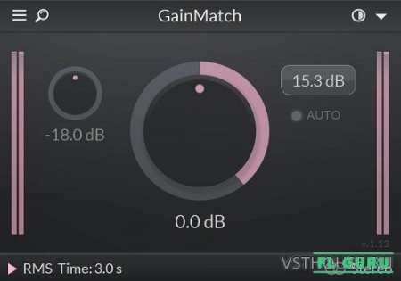 LetiMix - GainMatch 1.192VST3, AAX, AU WIN.OSX x86 x64 - гейт