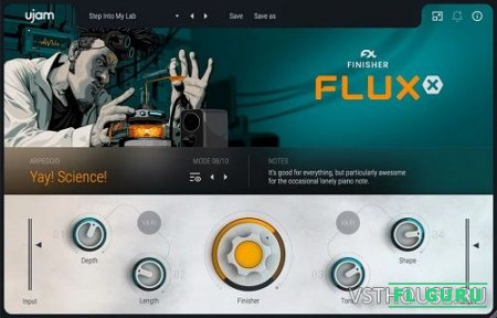 UJAM - Finisher FLUXX 1.0.0, VST, AAX x64 (NO INSTALL, SymLink Installer) [28.02.2021] - процессор эффектов