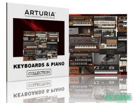 Arturia - Keyboards & Piano Collection 2021.1 VST, VST3, x64 (NO INSTALL, SymLink Installer) [04.03.2021] - набор виртуальных инструментов