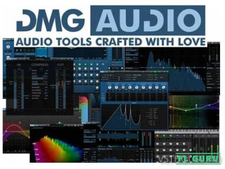 DMG Audio - All Plugins Bundle 2021.03.14 VST, VST3, RTAS, AAX x86 x64 [03.2021] - набор плагинов