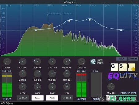 Genuine Soundware - EQuity 1.0.0 STANDALONE, VST, VST3, AU WIN.OSX x64 - эквалайзер