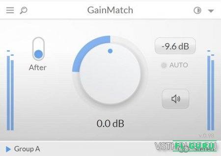 LetiMix - GainMatch 1.205 VST3, AAX, AU WIN.OSX x86 x64 - усилитель