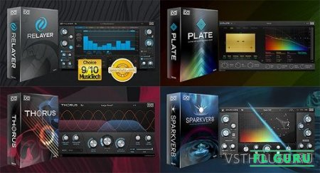 UVI - Effect Bundle 1.0 VST, AAX x64 (NO INSTALL, SymLink Installer) [18.03.2021] - набор плагинов