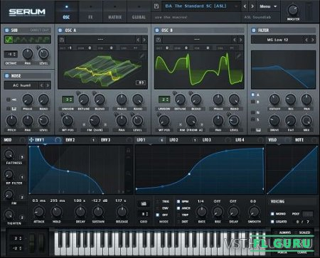 Xfer Records - Serum & SerumFX v1.33b4 VSTi, AAX x86 x64 [Full] Fixed - синтезатор