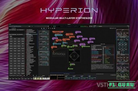 Tracktion Software & Wavesequencer - Hyperion 1.14 STANDALONE, VSTi3, AUi WIN.OSX x64 - синтезатор